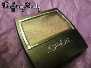 L'Oreal Wear Infinite Eye Shadow in Antique Brown (826)