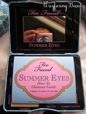 Too Faced Summer Eyes Palette