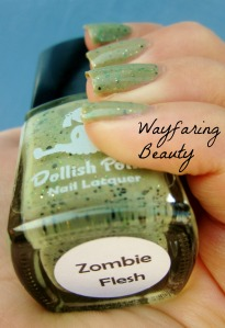 Dollish Polish Zombie Flesh